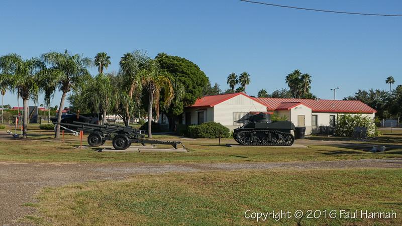 Iwo Jima Museum & Monument - Harlingen, TX - M5 Stuart & LVT4