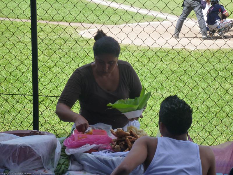 Granada baseball game vendor