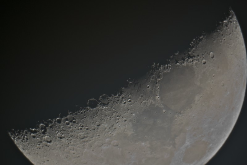 The Moon terminator