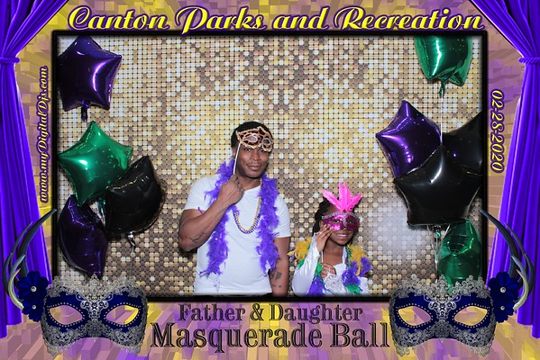 Canton Parks Father/Daughter Dance 2020