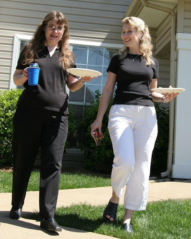 Aunt Joy & Sara.