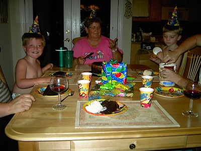 JACOB & TYLER'S BIRTHDAY 2004