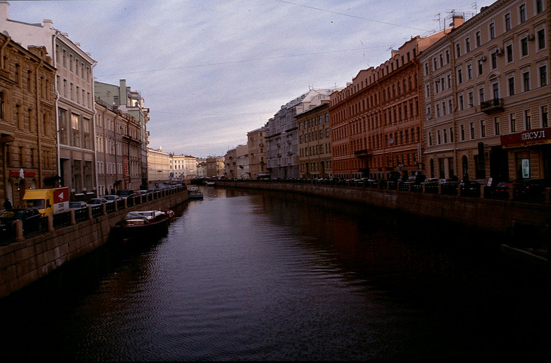 a St. Petersburg canal
