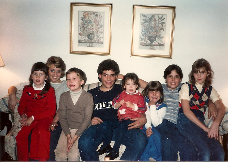 Cerne cousins as of Thanksgiving '84 - Thompson Farm