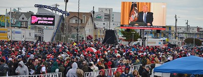 Trump Rally & Counter Protest - Wildwood, N.J. 1/28/20