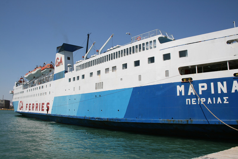 2009 - F/B MARINA in Piraeus.