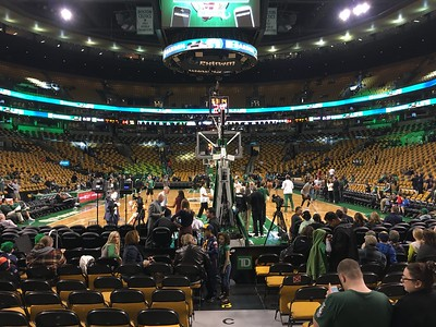 2015 - Cub Scouts at the Celtics Game