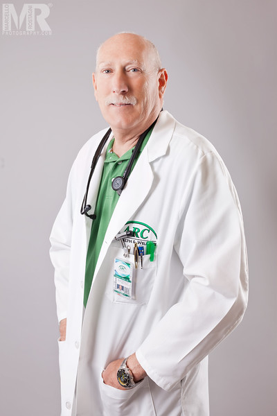 Reno Photographer Marcello Rostagni photographs professional headshot and corporate portraits for doctor.