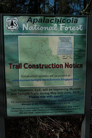 23 January 2011 Trail Dynamics on Munson Hills