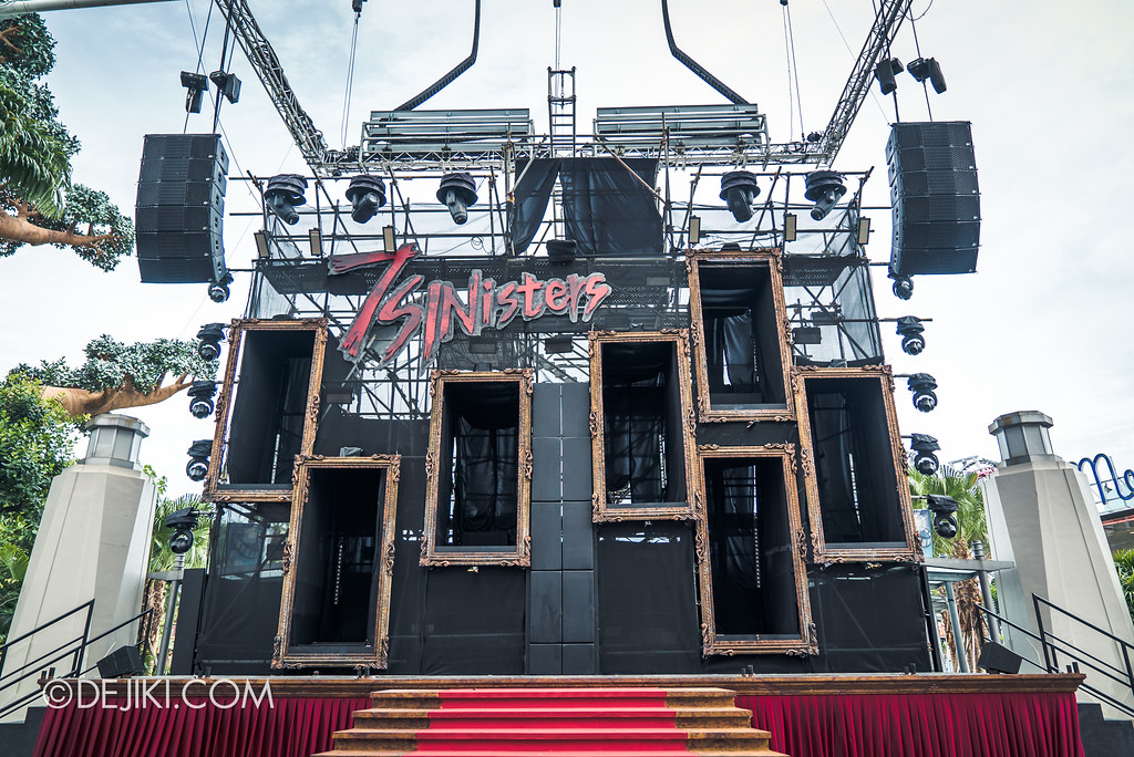 Halloween Horror Nights 7 Before Dark 5 Construction Preview - 7SINisters Stage