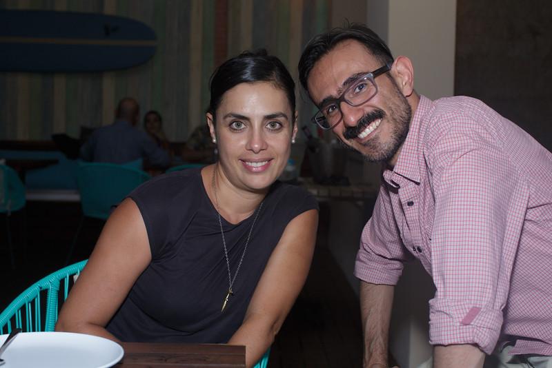 Ximena Urrutia, Hector Rodirguez