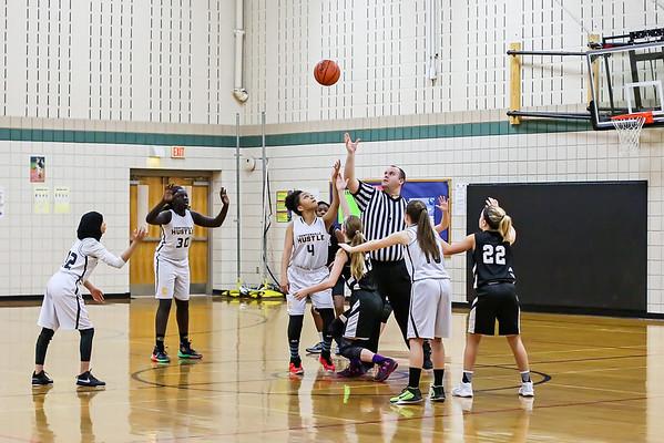 2017-01-22 DC 6th grade girls vs Centerville Gold