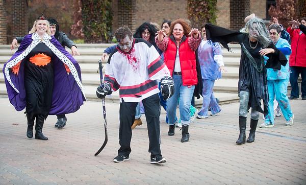 NHHS Halloween flash mob 2014