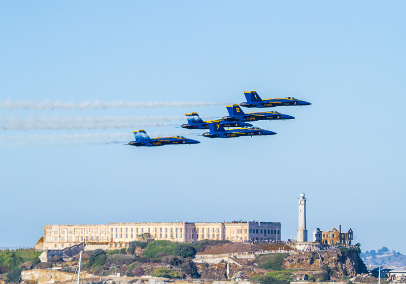 #2985 Blue Angels Alcatraz