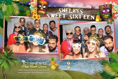 Shelby's Sweet 16 Luau Party