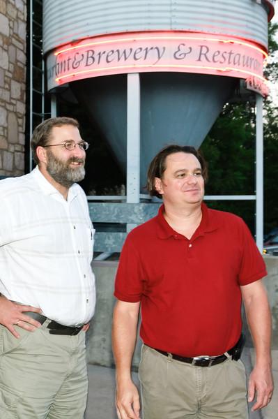 Phillip Neufeld and Paul Andrighetti