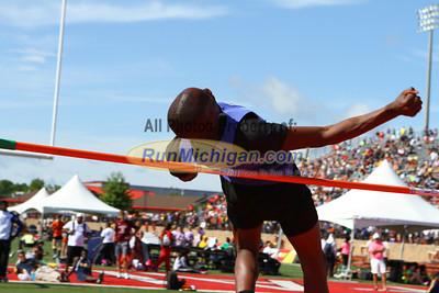 D1 Boys High Jump - 2013 MHSAA LP Track and Field Finals