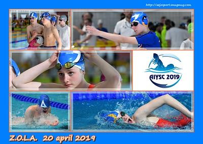 AIYSC 2019  @ ZOLA  Antwerp  20/04/2019  (deel 2: NM)