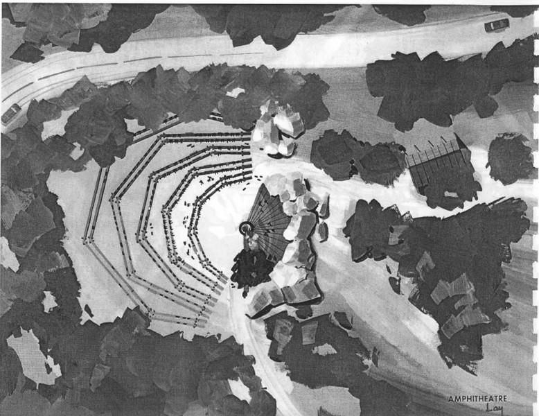 1971, Amphitheatre Plan
