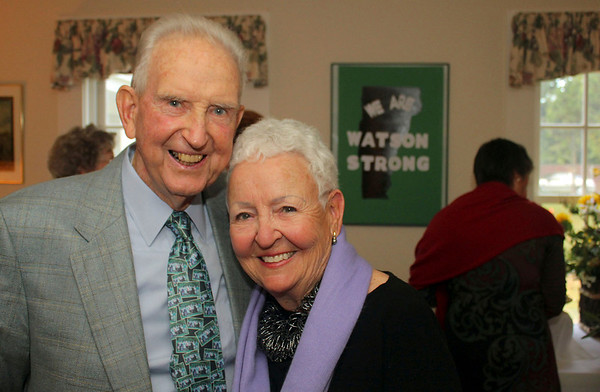 Lois and Harvey Watson Honored