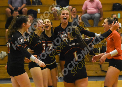 Attleboro - Oliver Ames Volleyball 9-16-19