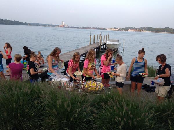 8/22-8/23/2014 Swim Team Retreat