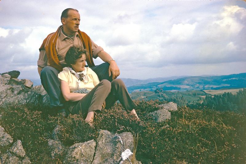 Ron & Daph on top of Old Smokey 1963 copy.jpg