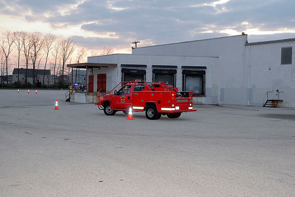 Driver Training Behind Old Acme