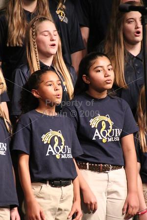 aquin christmas choir concert . 12.6.18