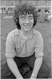 Trumbull College Picnic - Spring 1975  Leo Laporte '77