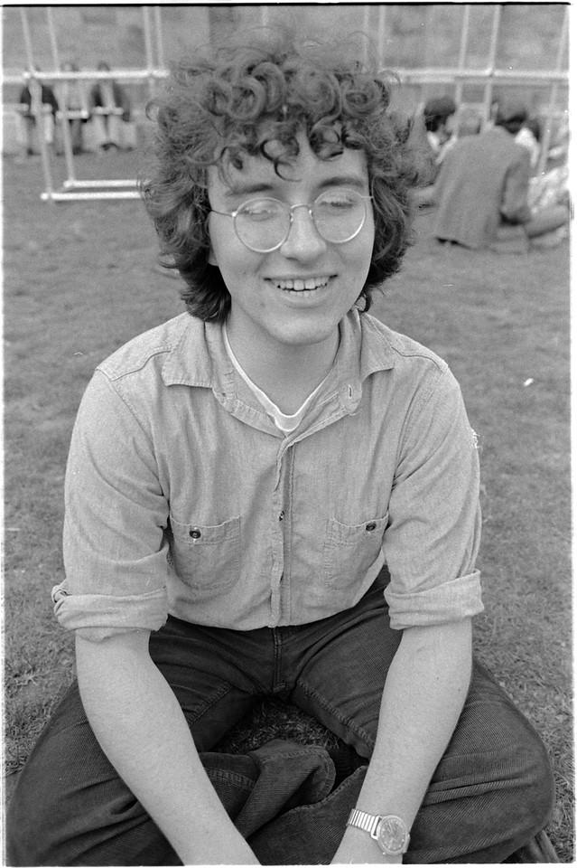 Trumbull College Picnic - Spring 1975<br /> <br /> Leo Laporte '77
