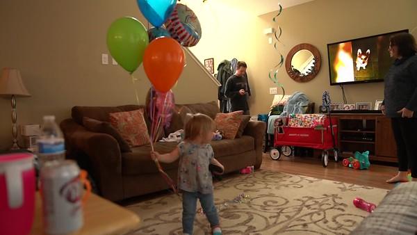 Eleanor's Birthday Videos