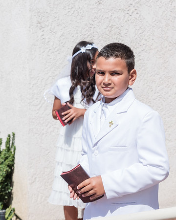 170603 Nathan's First Communion and 10th Bday