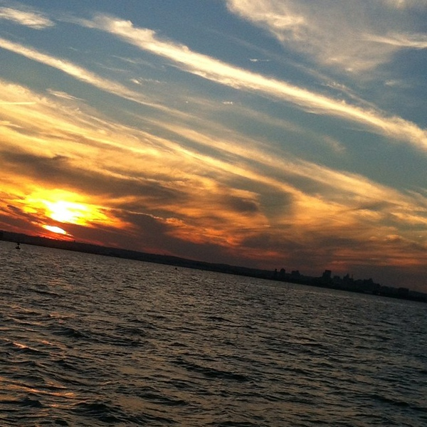 Another amazing #Baltimore #sunset #nofilter