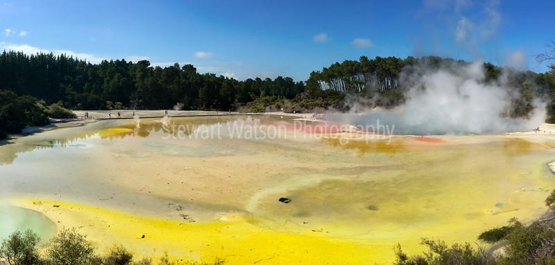 Champagne Pool, Waiotapu Thermal area