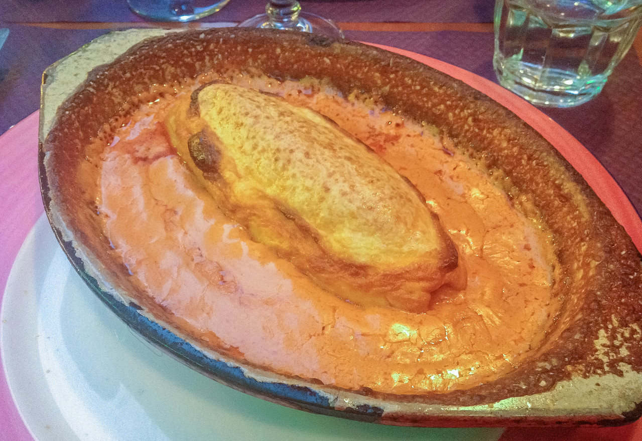 Quenelle fish dish in lyon