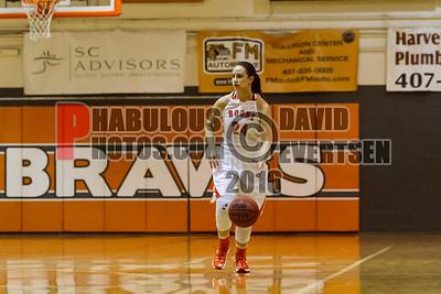 Girls Varsity Basketball - 2016