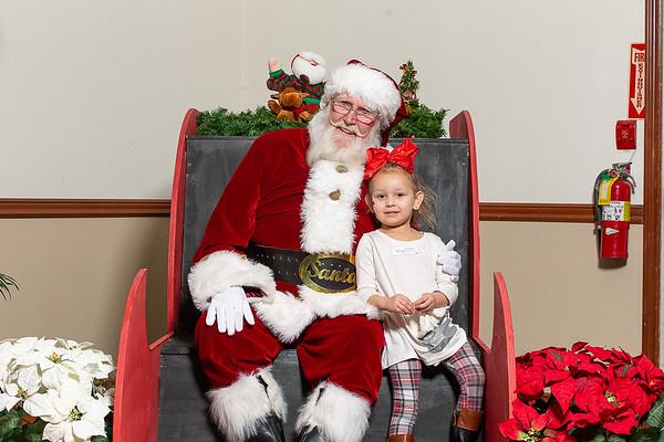 TBTP 2018 Photos with Santa