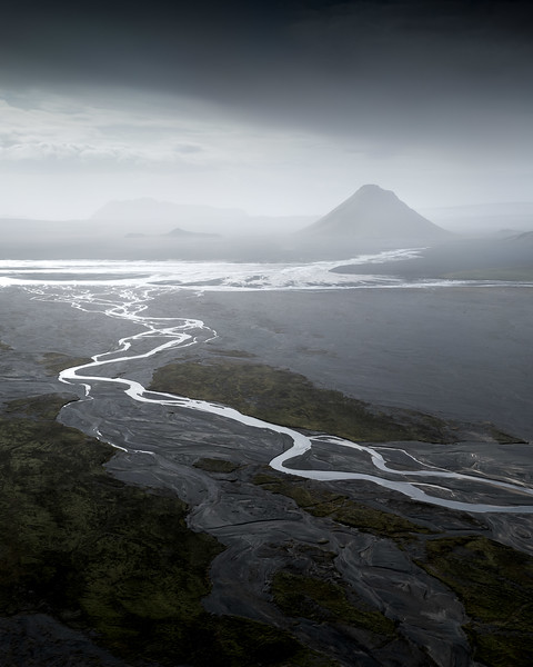 Maelifell aerial drone Iceland Highlands landscape photography fine art_1.jpg