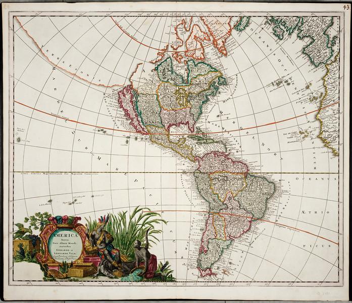 Valck World Map
