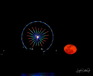 Galveston  - Super Moon