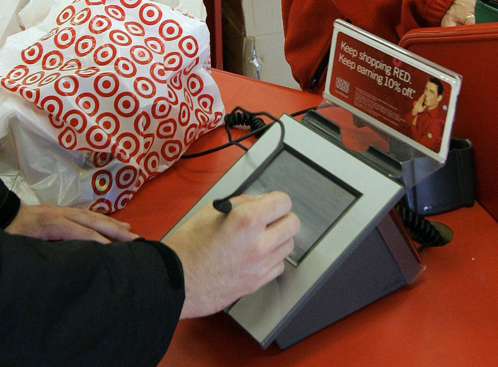 """. <p>3. TARGET <p>Expect more and pay less ... especially if you�ve got someone else�s credit card and PIN numbers.   <p><b><a href=\'http://www.twincities.com/business/ci_24802325/target-acknowledges-consumer-debit-card-pin-data-compromised\' target=\""""_blank\""""> HUH?</a></b> <p>    (AP Photo/Phil Coale, File)"""