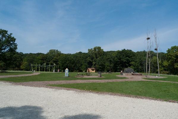 Morton Arboretum, in Lisle, Illinois