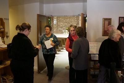 Pastor Dennis Bolton visit, Nov 15, 2015