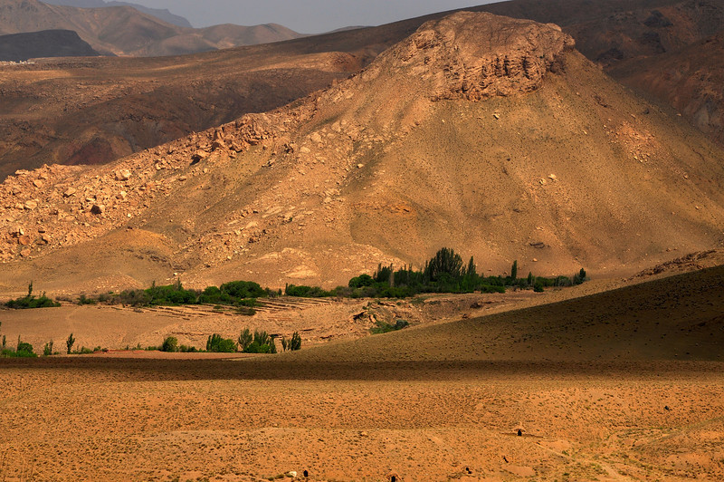 Small Villages in the desert, Iran.
