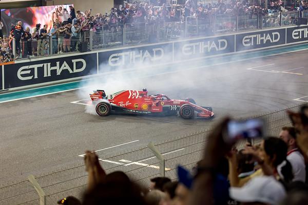 Sports 2018 Yas Marina F1