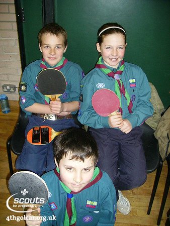 January - District Table Tennis