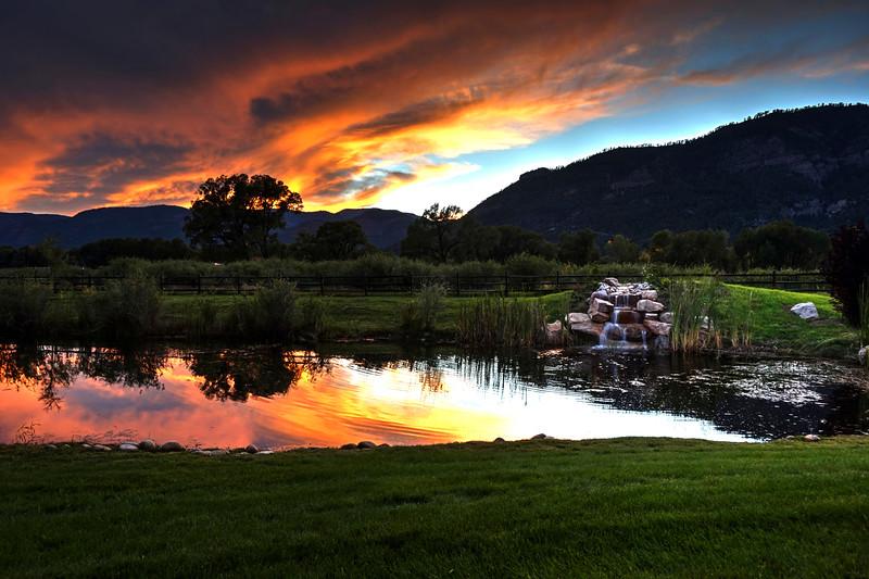 Sunset over Hermosa