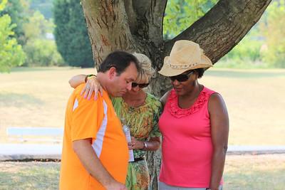 Prayer Walk Park before July 4th, 2012