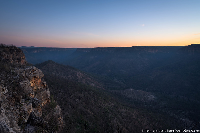 Nattai Valley sunset